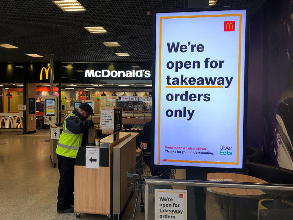 Sparkitects :: McDonald's Only Offered Curbside Pickup & Delivery During COVID